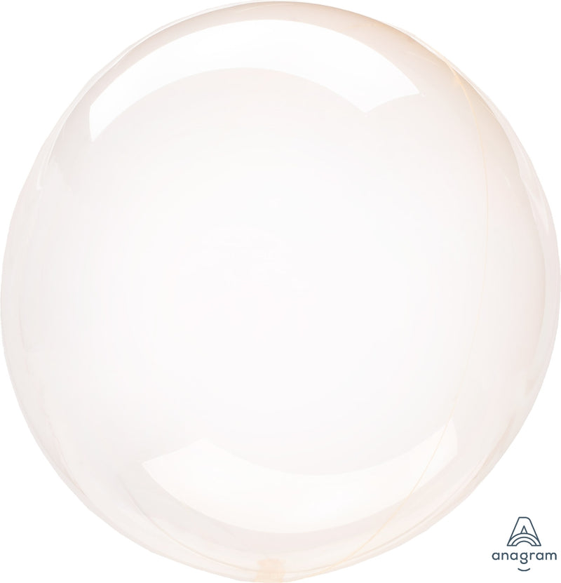 Clear Orange Balloon - Crystal Clearz