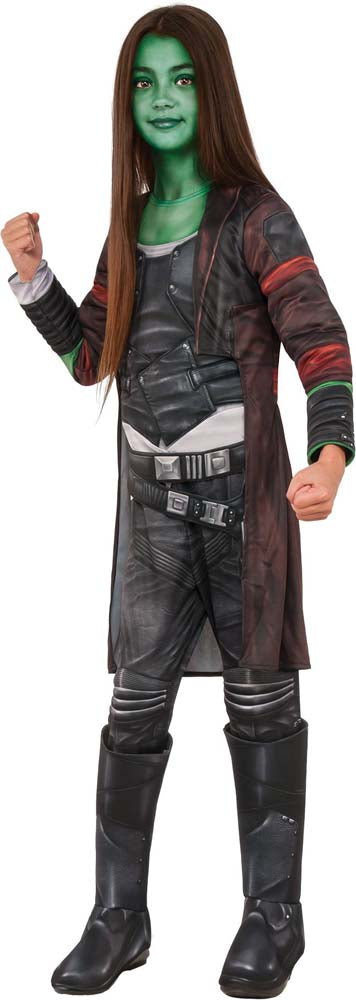 Girls Deluxe Gamora Costume - Guardians of the Galaxy