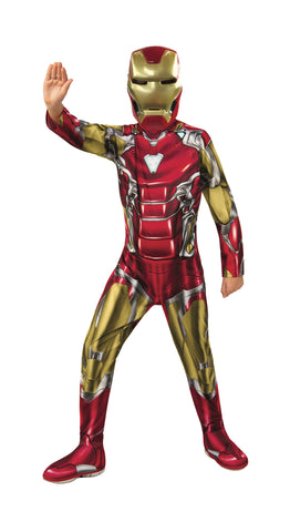 Boys Deluxe Iron Man Costume