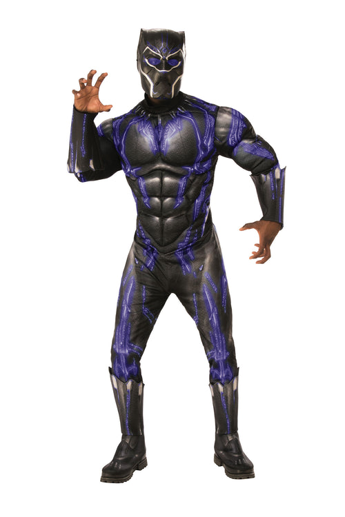 Adult Black Panther Deluxe Costume - Avengers: Endgame