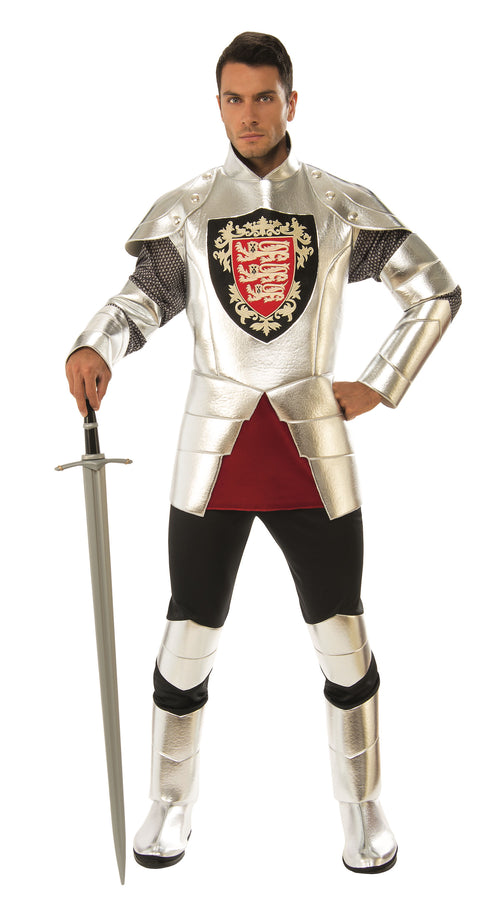 Adult Silver Knight Costume