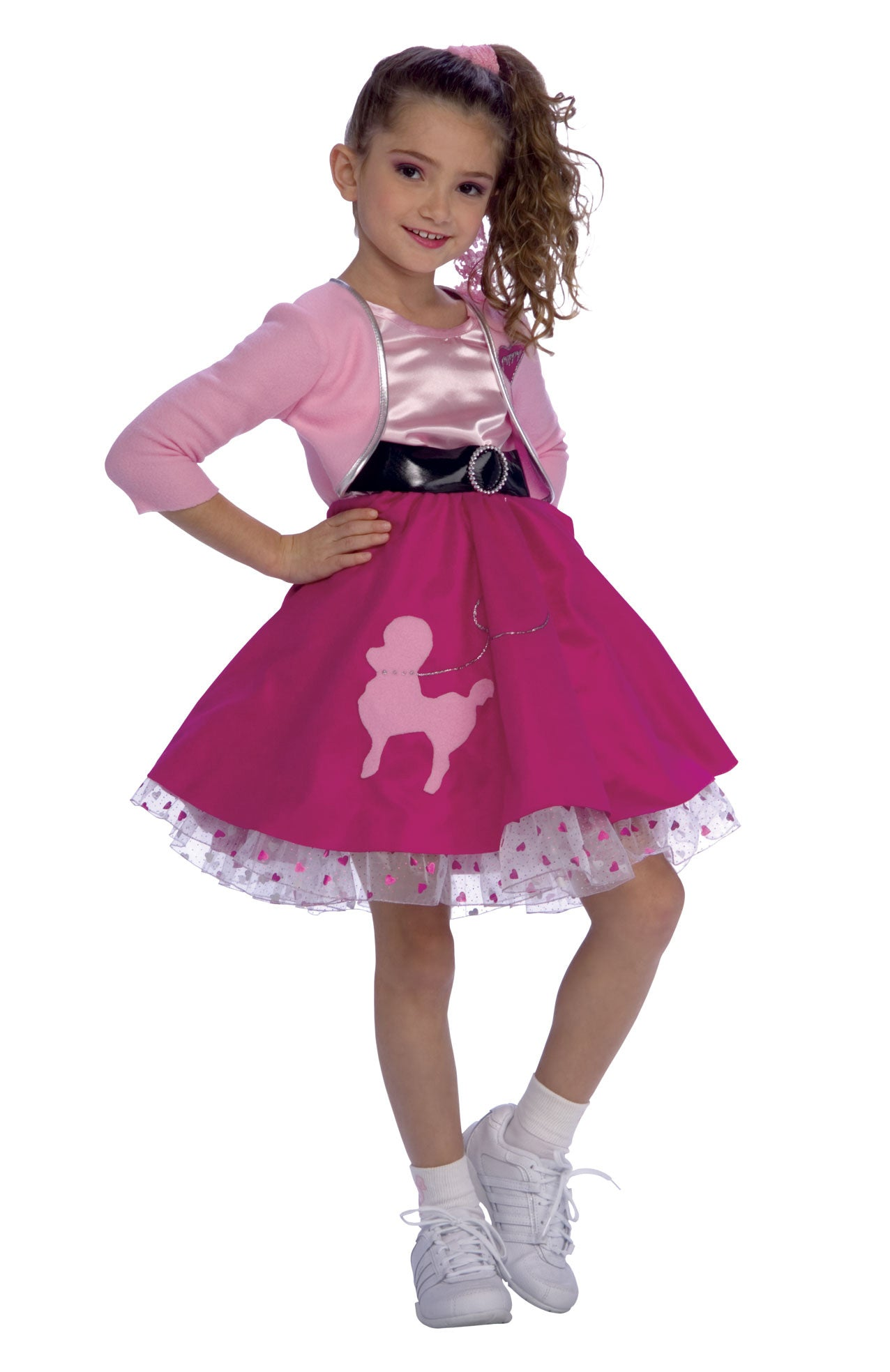 Toddler Girls Fifties Girl Costume