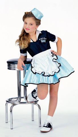 Adult I Love Lucy Polka Dot Costume