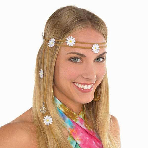 Amscan 60s 60s Flower Headband