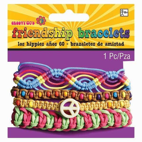 Amscan 60s HIppie Friendship Bracelets