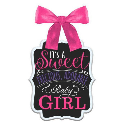 Amscan Baby Shower It's a Sweet Baby Girls Sign - Baby Shower