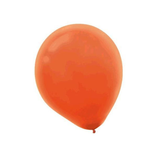 Amscan Balloons Orange Balloons 100ct