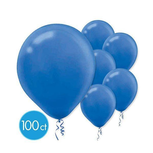 Amscan Balloons Royal Blue Balloons 100ct