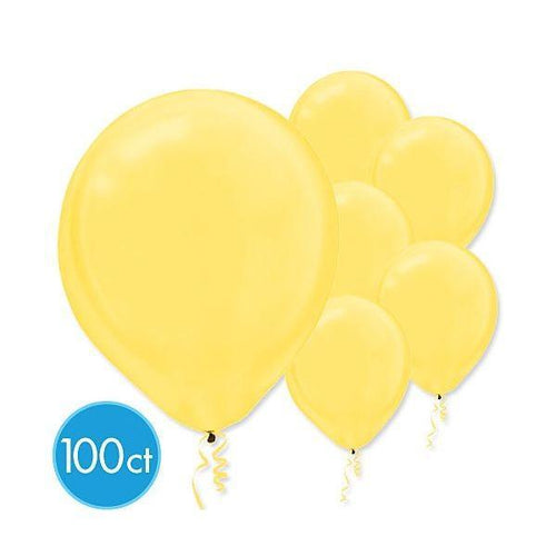 Amscan Balloons Sunshine Yellow Balloons 100ct