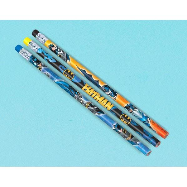 AMSCAN BIRTHDAY Batman Pencil Favors 12ct