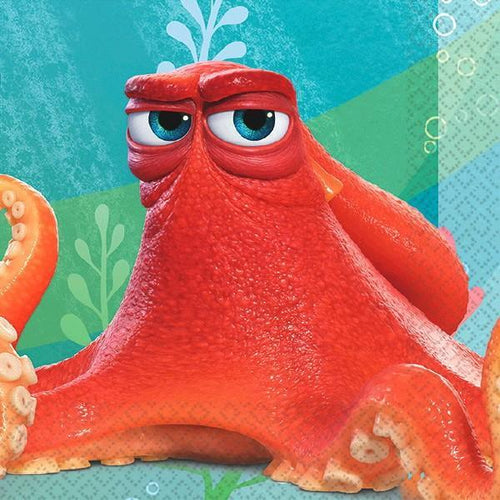 Amscan BIRTHDAY ©Disney/Pixar Finding Dory Beverage Napkins 16ct