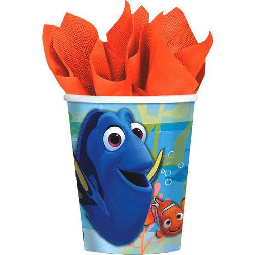 Amscan BIRTHDAY ©Disney/Pixar Finding Dory Cups - 8ct