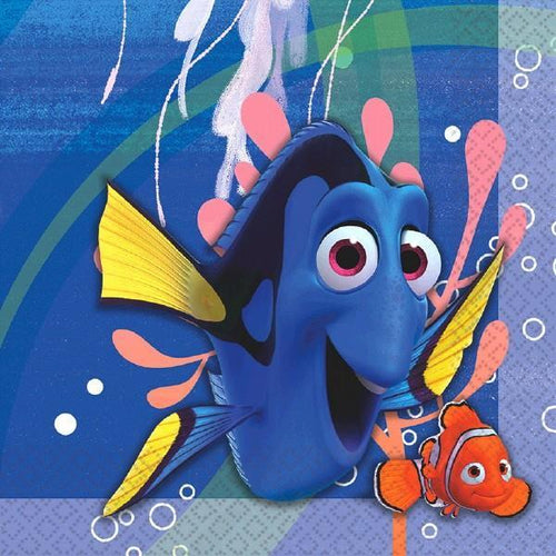 Amscan BIRTHDAY ©Disney/Pixar Finding Dory Lunch Napkins 16ct