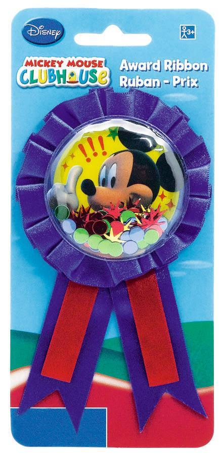 AMSCAN BIRTHDAY Mickey Mouse Award Ribbon
