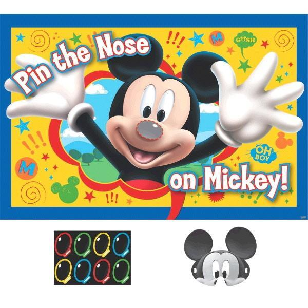 AMSCAN BIRTHDAY Mickey Mouse Party Game 8 Players
