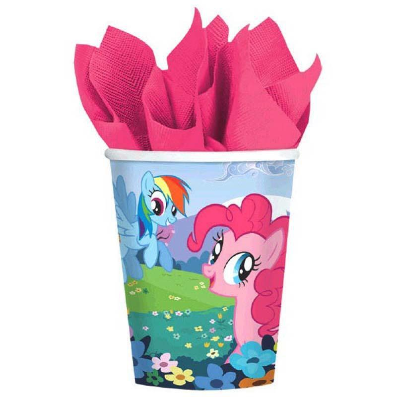 AMSCAN BIRTHDAY My Little Pony 9oz Cups 8ct