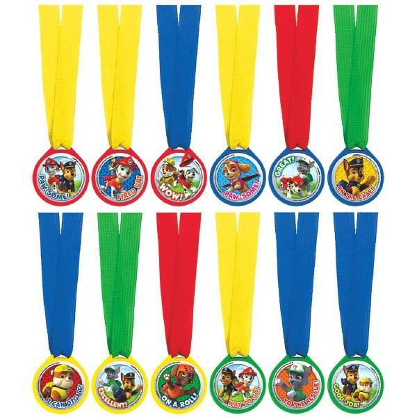 AMSCAN BIRTHDAY Paw Patrol (tm) Mini Award Medal