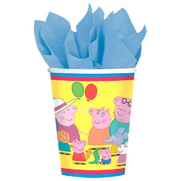 AMSCAN BIRTHDAY Peppa Pig (tm) 9oz Cups 8ct