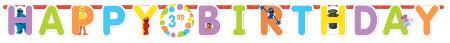AMSCAN BIRTHDAY Sesame Street Add-An-Age Birthday Banner