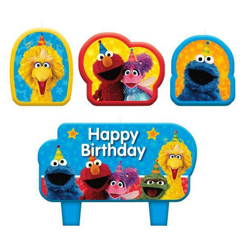 AMSCAN BIRTHDAY Sesame Street® Birthday Candle Set