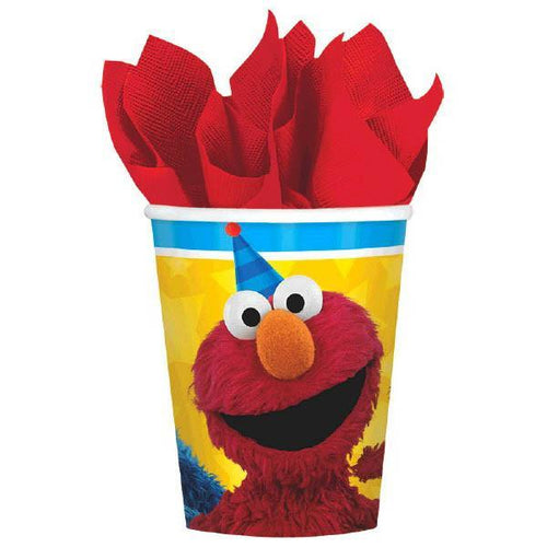 AMSCAN BIRTHDAY Sesame Street® Cups, 9 oz. 8ct