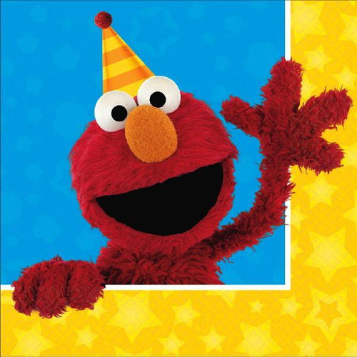 AMSCAN BIRTHDAY Sesame Street® Lunch Napkins 16ct