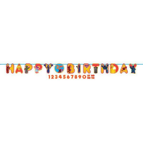 AMSCAN BIRTHDAY Sesame Street® Ribbon Birthday Banner