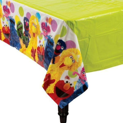 AMSCAN BIRTHDAY Sesame Street Table Cover