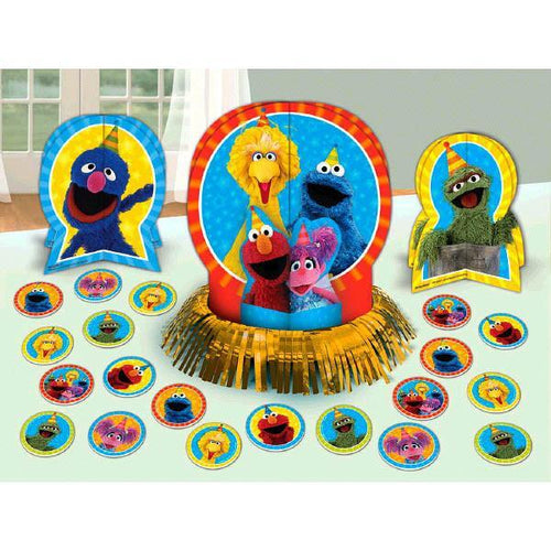 AMSCAN BIRTHDAY Sesame Street® Table Decorating Kit