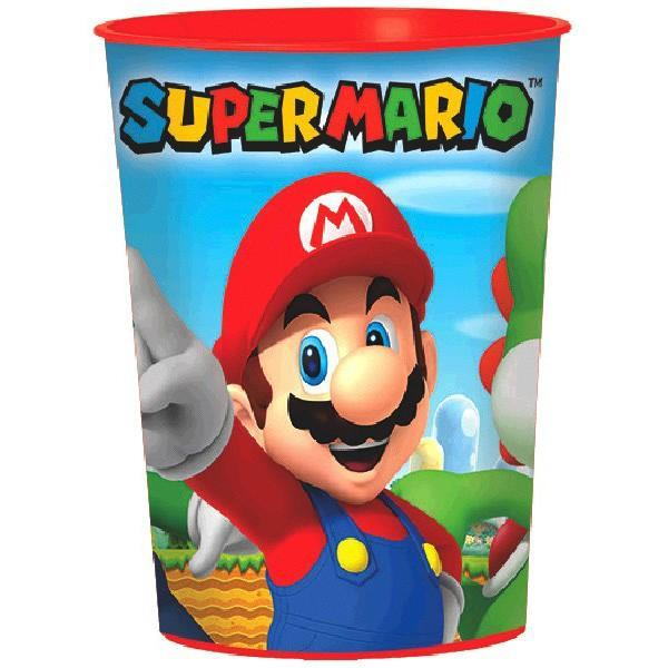 AMSCAN BIRTHDAY Super Mario Brothers (tm) Favor Cup 16oz