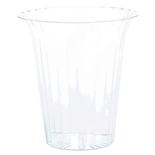 Amscan Candy Buffet Clear Plastic Flared Cylinder Container