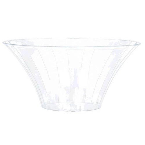 Amscan Candy Buffet Large Clear Plastic Flared Bowl