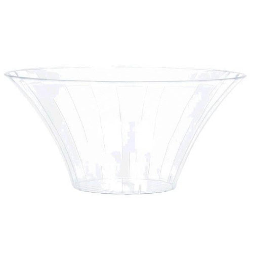 Amscan Candy Buffet Small Clear Plastic Flared Bowl