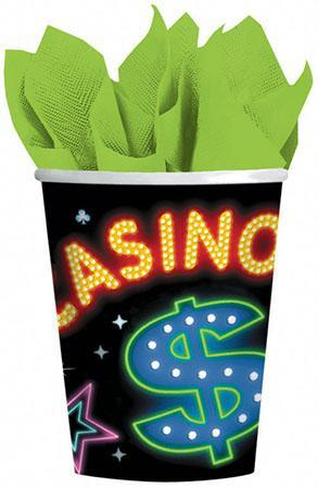 Amscan Casino Casino Party 9 Oz. Cups 8ct