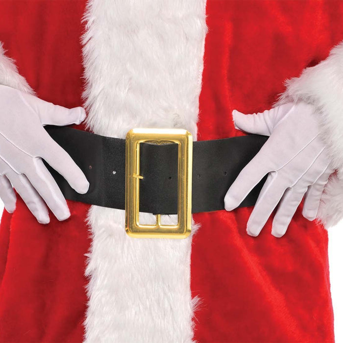 Amscan Christmas Adult Santa Gloves