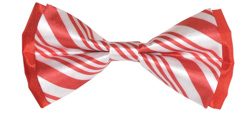 Amscan Christmas Candy Cane Bow Tie