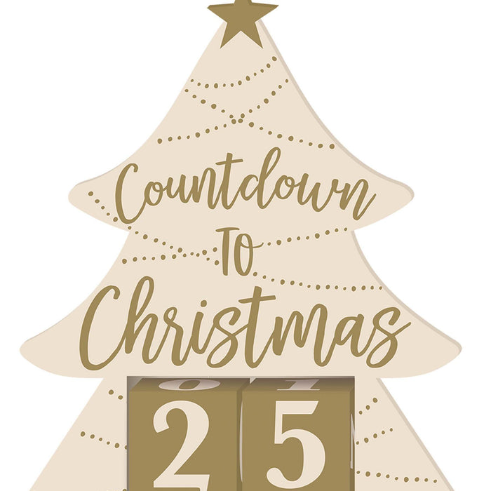 Amscan Christmas Countdown to Christmas Sign