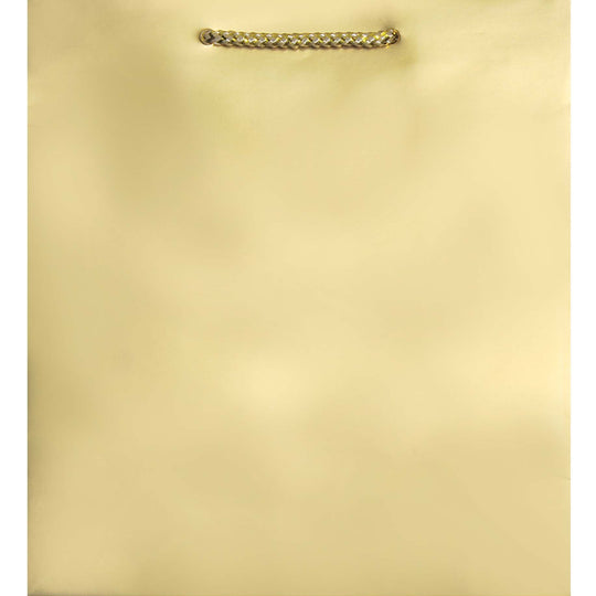 Amscan Christmas Metallic Gold Gift Bag