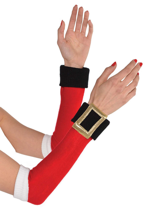 Amscan Christmas Santa Arm Warmers