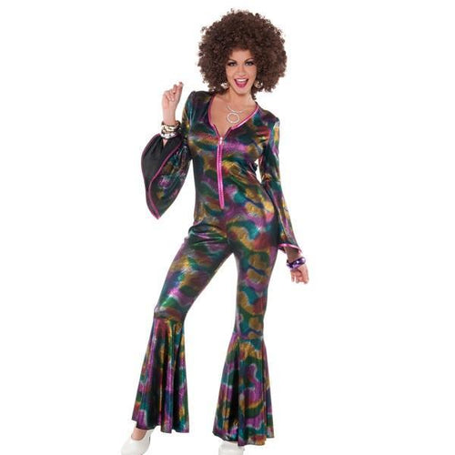 Amscan Costumes Adult Disco Bodysuit - Standard Size