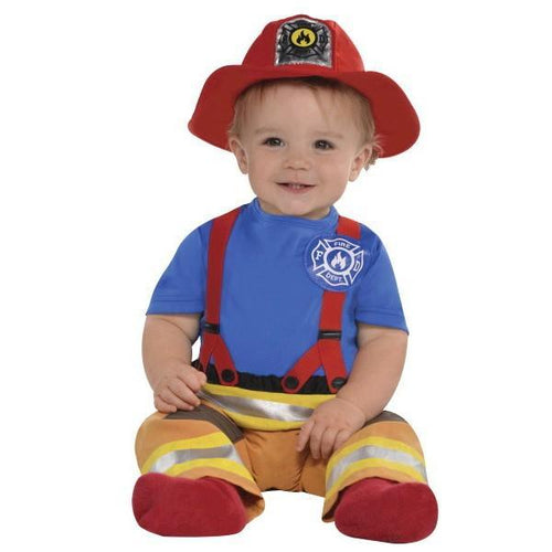 Amscan Costumes Baby Boys First Fireman Costume - 0-6 Months