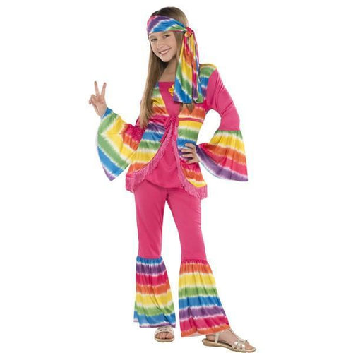 Amscan Costumes Girls Groovy Girl Costume - Large (12-14)