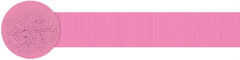 Amscan Decorations Bright Pink Streamer Roll