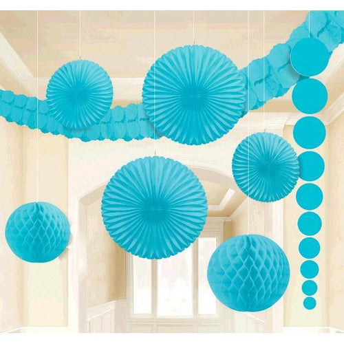 Amscan Decorations Caribbean Blue Decorating Kit