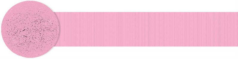 Amscan Decorations Pink Crepe Streamer Roll