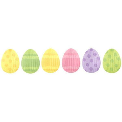Amscan Easter Mini-Egg Shaped Hanging Decorations