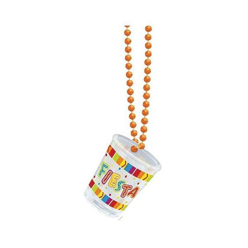 Amscan Fiesta Fiesta Bead Necklace with Shot Glass
