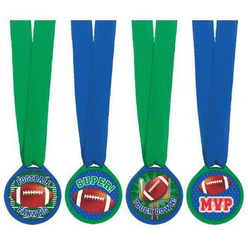 Amscan Football Football Award Medals