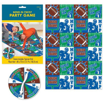 Amscan Football Football Bend & Twist Game