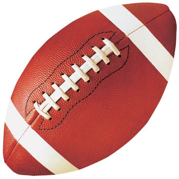 Amscan Football Football Cutout - 3 3/4""
